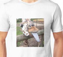 Funny Giraffe tongue - animal lovers Unisex T-Shirt