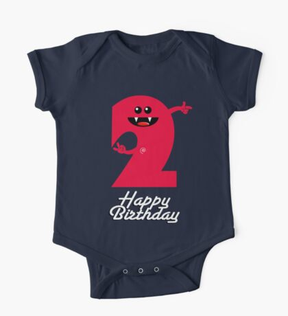 HAPPY BIRTHDAY 2 One Piece - Short Sleeve