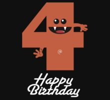 HAPPY BIRTHDAY 4 Kids Tee