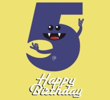 HAPPY BIRTHDAY 5 Kids Clothes