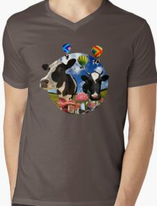 Magic mushroom part 2 Mens V-Neck T-Shirt