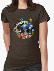 Magic mushroom part 2 Womens Fitted T-Shirt