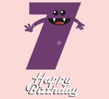 HAPPY BIRTHDAY 7 Baby Tee