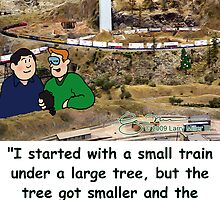 Small train by Larry Miller III