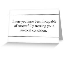Cards for Engineers - Get well soon Greeting Card
