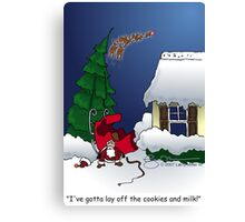 Too many cookies Canvas Print