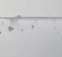 Jubilee Bridge Panoramic by Colin Bentham