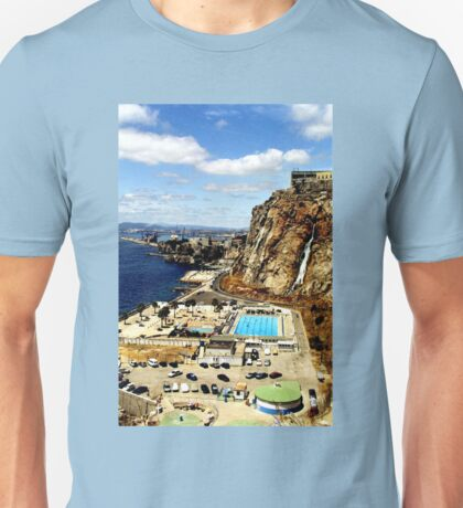 The South Mole, Gibraltar Unisex T-Shirt