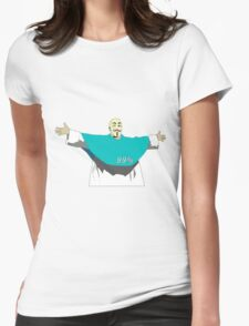 God is part of 99% Womens Fitted T-Shirt