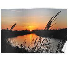 "Sunset in ""my backyard""....... Poster"