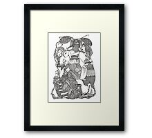 The Empress & Her Tasters Framed Print
