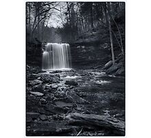 Harrison Wright Falls November 2011 Photographic Print