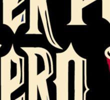 beer pong hero Sticker