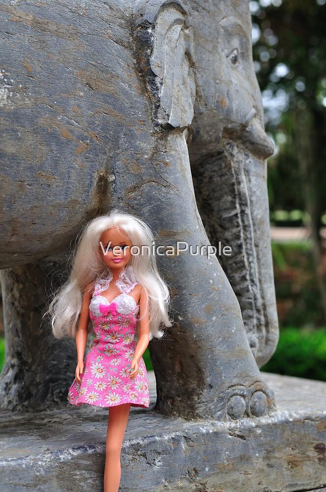 Brisbane Temple Elephant by VeronicaPurple