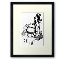 Little Empress Framed Print