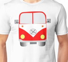 Chunky Red Camper Van Tee shirt Unisex T-Shirt