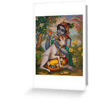 Krishna Gopal Greeting Card