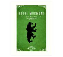 House Mormont Art Print