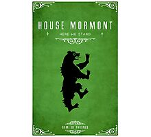 House Mormont Photographic Print