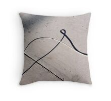 Loopy Shadow Throw Pillow