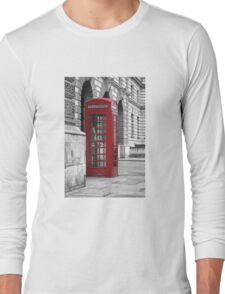 red booth Long Sleeve T-Shirt