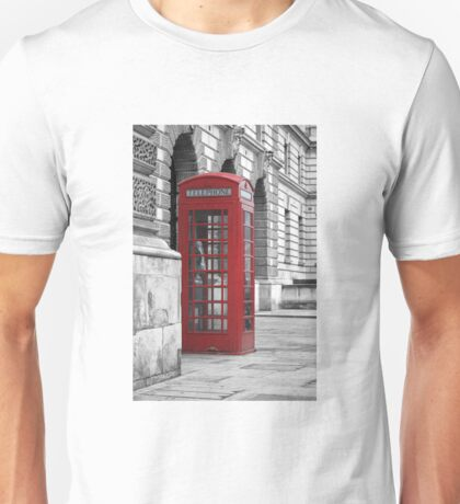 red booth Unisex T-Shirt