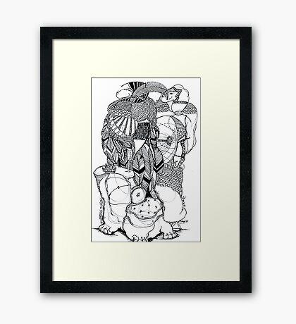 Empress Toyin Framed Print