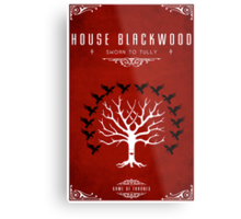 House Blackwood Metal Print