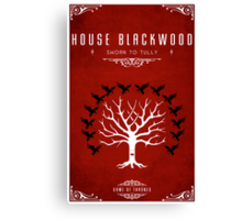 House Blackwood Canvas Print