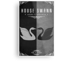 House Swann Metal Print