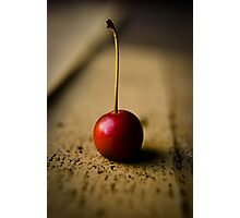 Red Winter Berry Photographic Print
