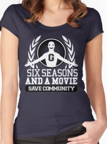 #Six Seasons and a Movie Women's Fitted Scoop T-Shirt