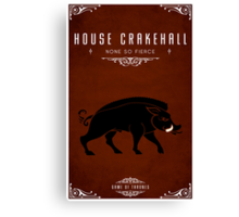House Crakehall Canvas Print