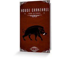 House Crakehall Greeting Card