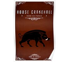 House Crakehall Poster