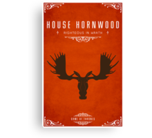 House Hornwood Canvas Print