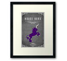 House Brax Framed Print