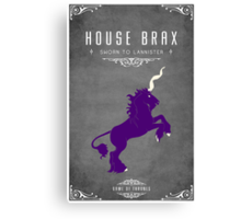 House Brax Canvas Print