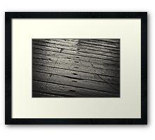 Wood Floor Framed Print