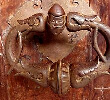 Medieval Door Knocker by Charmiene Maxwell-batten