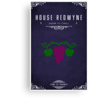 House Redwyne Canvas Print