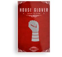 House Glover Metal Print