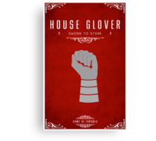 House Glover Canvas Print