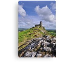 Brentor Church - Devon Canvas Print