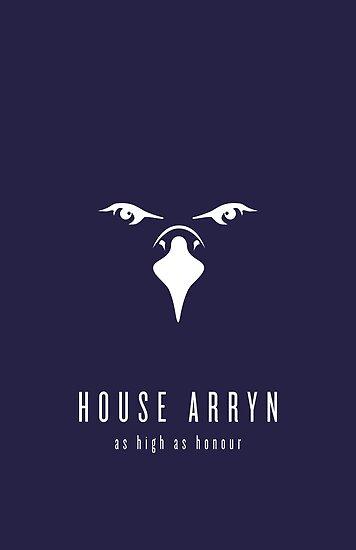 House Arryn Minimalist Poster by liquidsouldes