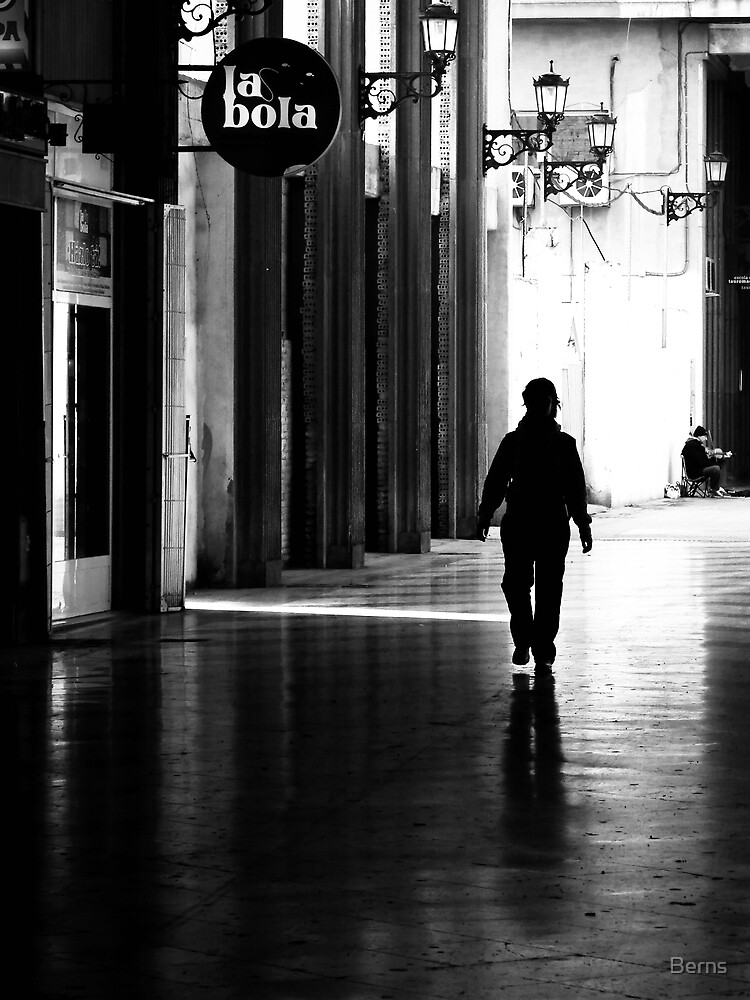 Where the Light Follows... by Berns