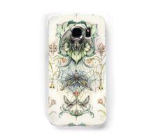Antique pattern - Spider and Moths Samsung Galaxy Case/Skin