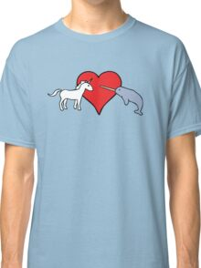 Unicorn Loves Narwhal Classic T-Shirt