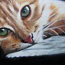 Mini Cat 3 by Valerie Simms