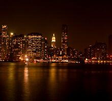Manhattan skyline - color by Slawomir  Piasecki